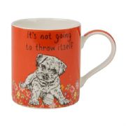 Churchill Couture It's Not Going To Throw Itself Dog Mug